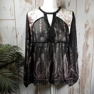 Knox Rose baby doll blouse